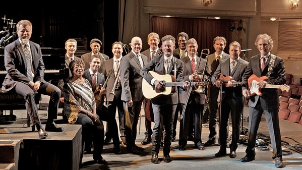 IT'S LARGE, NOT BIG Lyle Lovett and His Large Band play the Avila Beach Golf Resort on July 7. - PHOTO COURTESY OF LYLE LOVETT AND HIS LARGE BAND