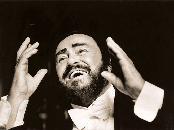 LEND ME A TENOR Pavarotti, a new documentary from director Ron Howard, examines the life and career of famed opera tenor Luciano Pavarotti. - PHOTO COURTESY OF IMAGINE ENTERTAINMENT