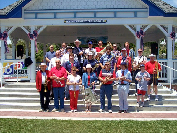 SOUSA CLASSICS! The Village Band will play classic patriotic music on July 4, from the Rotary Bandstand in Arroyo Grande's village. - PHOTO COURTESY OF THE VILLAGE BAND