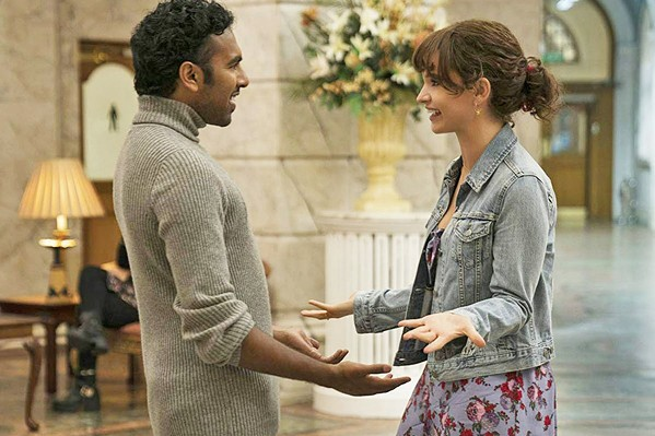 SHE'S A BELIEVER Ellie (Lily James, right) is Jack's (Himesh Patel) biggest fan, but he doesn't realize she wants more. - PHOTOS COURTESY OF WORKING TITLE FILMS