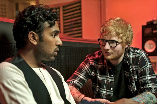 HEY DUDE Singer-songwriter Ed Sheeran (right) plays himself opposite Himesh Patel's Jack Malik (left), who awakes from an accident to discover he's the only person in the world who knows The Beatles' songs. - PHOTOS COURTESY OF WORKING TITLE FILMS