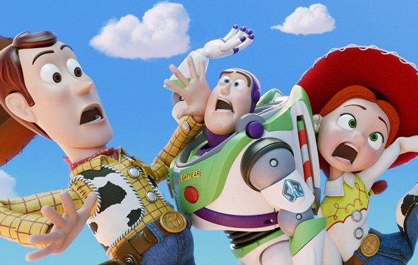 PIXAR PERFECT Woody (voiced by Tom Hanks), Buzz Lightyear (voiced by Tim Allen), and Jessie (voiced by Joan Cusack) reunite in Toy Story 4. - PHOTO COURTESY OF PIXAR ANIMATION STUDIOS