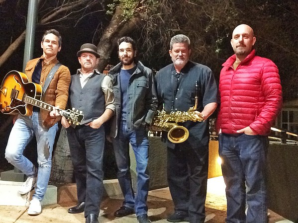 SOUL JAZZ Local super group 41K plays the July 14 Arroyo Grande Concert Series at the Rotary Bandstand in the Village. - PHOTO COURTESY OF 41K