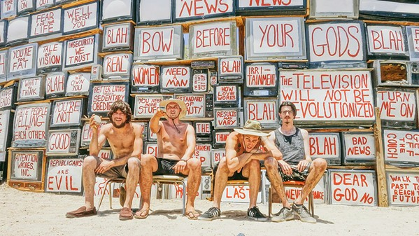 """GET HAPPY Self-described """"dysfunctional surf pop grunge"""" act The Happys play Frog and Peach on July 24. - PHOTO COURTESY OF THE HAPPYS"""