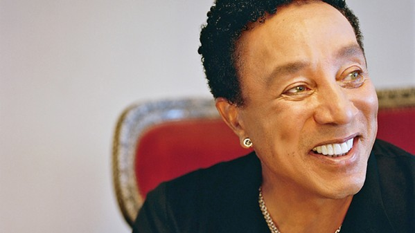 OOO BABY BABY Iconic Motown singer Smokey Robinson plays the Chumash Grandstand Arena of the California Mid-State Fair on July 26. - PHOTO COURTESY OF SMOKEY ROBINSON