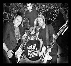 THE O.G.S OF THE O.C. Classic Orange County punk and surfer rockers Agent Orange plays The Siren on July 26. - PHOTO COURTESY OF AGENT ORANGE