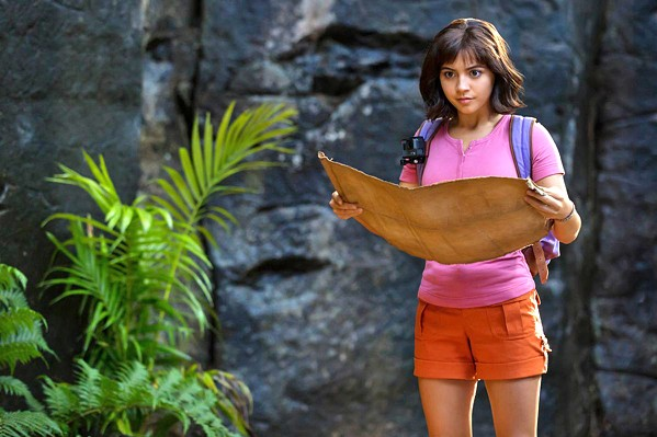 TREASURE HUNT When her parents disappear, Dora (Isabela Moner) leads her friends on search for them, in Dora and the Lost City of Gold. - PHOTO COURTESY OF PARAMOUNT PLAYERS