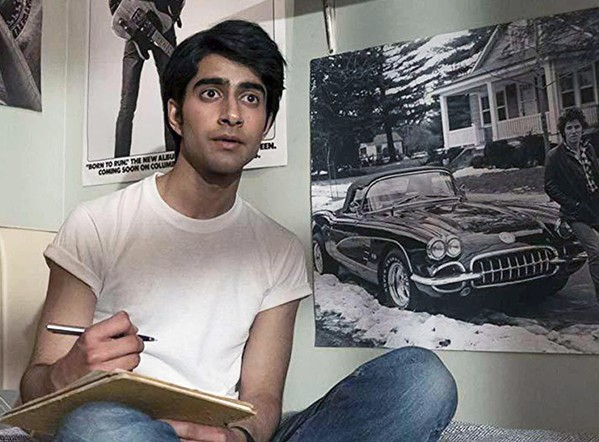 BORN IN THE U.K. Viveik Kalra stars as Javed, a British teen of - Pakistani descent who becomes inspired by Bruce Springsteen's music, in - Blinded by the Light. - PHOTO COURTESY OF BEND IT FILMS
