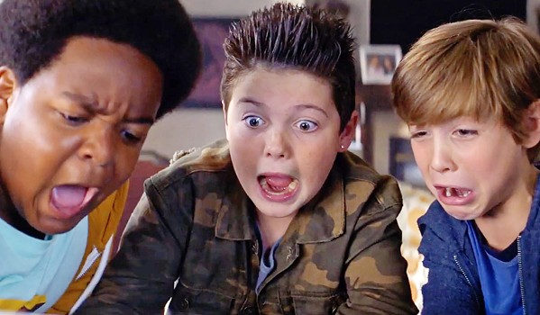IN OVER THEIR HEADS Three sixth graders—Lucas (Keith L. - Williams), Thor (Brady Noon), and Max (Jacob Tremblay)—skip school and go on an incredible adventure involving stolen drugs, teenage girls, and the - promise of an epic party, in Good Boys. - PHOTO COURTESY OF UNIVERSAL PICTURES