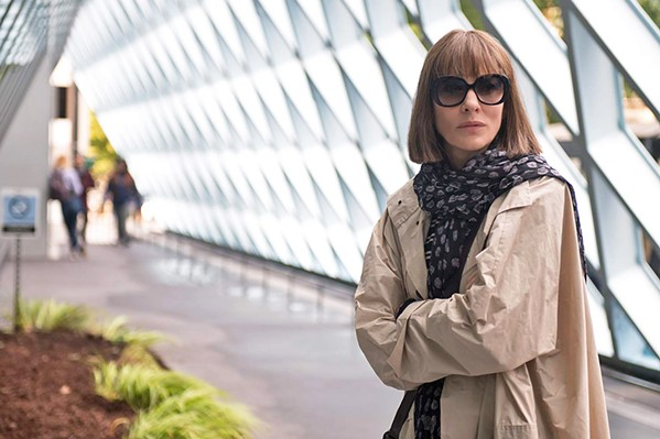 IN THE SHADOWS When confronted by a fan of her past architectural work, Bernadette quickly cowers away, hiding from her former life. - PHOTOS COURTESY OF ANNAPURNA PICTURES