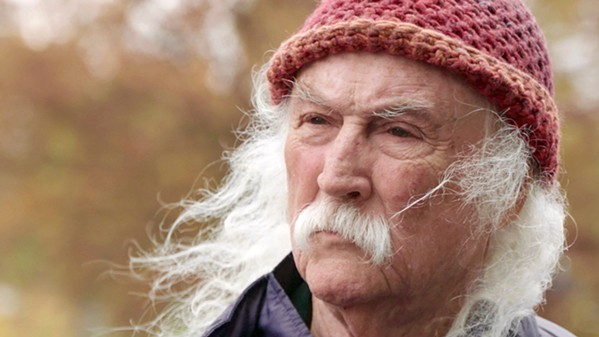 ICON/PARIAH David Crosby—founding member of both The Byrds and Crosby, Stills & Nash—is the subject of the new documentary David Crosby: Remember My Name, which explores his life and music. - PHOTO COURTESY OF VINYL FILMS