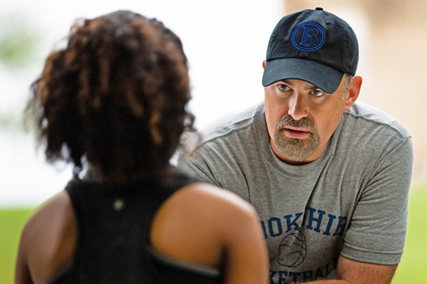 WE SHALL OVERCOME Former basketball coach John Harrison (Alex Kendrick) takes on the challenge of his life when he coaches an underdog cross-country runner, in the faith-based film, Overcomer. - PHOTO COURTESY OF AFFIRM FILMS