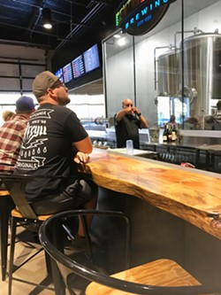 """CRAFTY Central Coast Brewing is one of three SLO Country breweries (54 in California), including Firestone Walker and SLO Brew, that make a special beer supporting ALS research. CCB's """"F&*% ALS"""" IPA is available at its Monterey Street and Higuera (pictured) locations. - PHOTOS BY BETH GIUFFRE"""