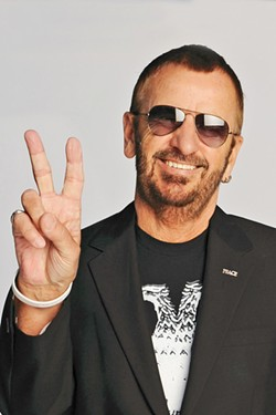 HAPPY 30TH Ringo Starr and His All Starr band are celebrating three decades of touring this year, and stopping by Vina Robles for a show on Aug. 30. - PHOTO COURTESY OF RINGO STARR