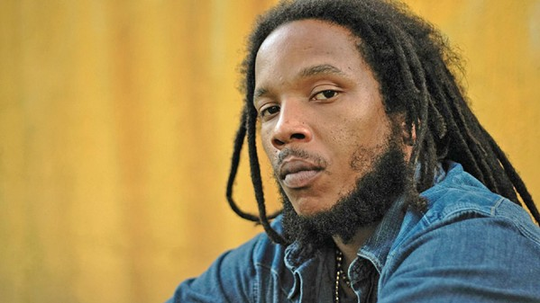 HIP-HOP REGGAE Stephen Marley and his Babylon Bus Tour will flow into the Fremont Theater on Sept. 7. - PHOTO COURTESY OF STEPHEN MARLEY