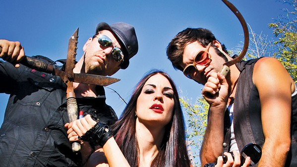 STAY SHARP! World music fusion act Beats Antique is one of 16 bands playing this weekend's Whale Rock Music and Arts Festival on Sept. 14 to 15, at Castoro Cellars. - PHOTO COURTESY OF BEATS ANTIQUE
