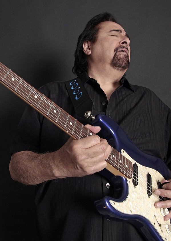 SIZZLING BLUES Stratocaster master Coco Montoya plays The Siren on Sept. 18, delivering a night of blistering blues. - PHOTO COURTESY OF KEN WEINGART