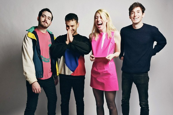 BROOKLYN POWER POP Charly Bliss plays the SLO Brew Rock Event Center on Oct. 1, bringing lush pop tracks driven by singer Eva Hendricks' sugarcoated vocals. - PHOTO COURTESY OF SHERVIN LAINEZ
