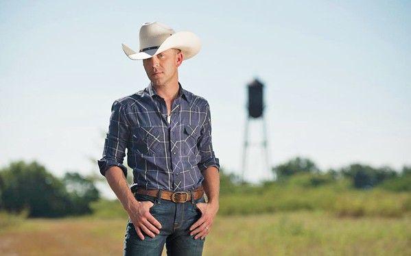 DEEP COUNTRY Justin Moore headlines the five-band almost-sold-out Boots & Brews Country Music Festival on Sept. 28, in the Madonna Inn Meadow. - PHOTO COURTESY OF JUSTIN MOORE