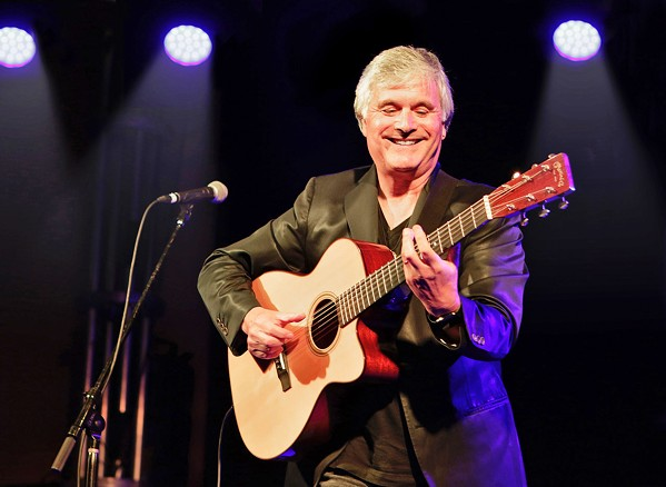 OF WINGS Laurence Juber, perhaps known best as guitarist for Paul McCartney's Wings, plays a solo show at The Siren on Sept. 29. - PHOTO COURTESY OF LAURENCE JUBER
