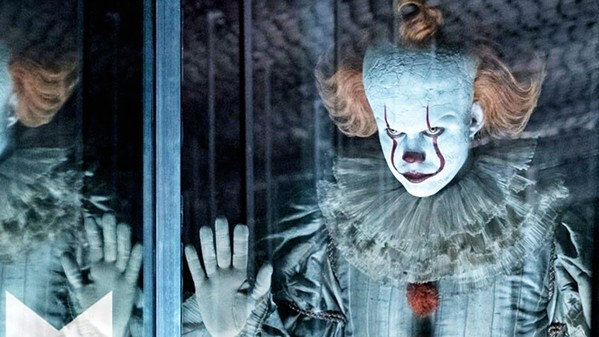 FLOAT ON Bill Skarsgard reprises his role as the devilish clown, Pennywise, in the horror sequel, It: Chapter 2. - PHOTO COURTESY OF WARNER BROS. PICTURES