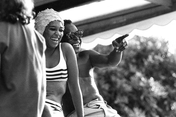 HAPPY TIMES Davis and his wife, the dancer Frances Taylor, enjoy the good times ... until he lost her due to his temper and jealousy. - PHOTOS COURTESY OF EAGLE ROCK ENTERTAINMENT