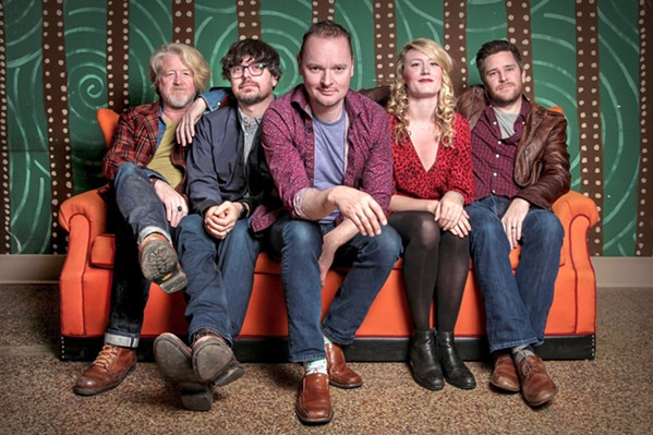 RIDE THE STORM Celtic juggernaut Gaelic Storm brings its amazing string music to The Siren on Oct. 20. - PHOTO COURTESY OF GAELIC STORM