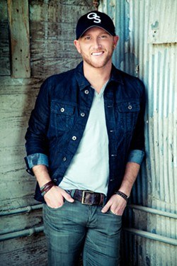HIT MAKER Vina Robles Amphitheatre hosts country superstar Cole Swindell on Oct. 18. - PHOTO COURTESY OF COLE SWINDELL