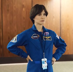 EARTHBOUND Astronaut Lucy Cola (Natalie Portman) finds her reality unraveling after she returns to Earth, in Lucy in the Sky. - PHOTO COURTESY OF FOX SEARCHLIGHT PICTURES