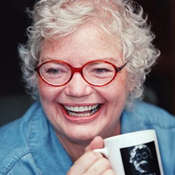 A TALL DRINK OF WATER Corruption-busting media firebrand Molly Ivins is celebrated in Raise Hell: The Life and Times of Molly Ivins, screening exclusively at The Palm Theatre. - PHOTO COURTESY OF GUNSLINGER PRODUCTIONS