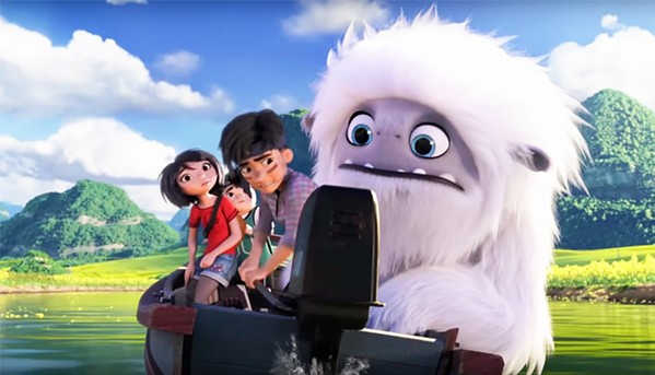 EVEREST HERE WE COME After discovering a magical Yeti on a rooftop, a group of three friends work together to return him to Mount Everest, in Abominable. - PHOTO COURTESY OF DREAMWORKS ANIMATION