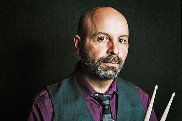 DRUMMER EXTRAORDINAIRE NYC-based drummer and arranger Rob Garcia will play with his quartet at SLO Town's Unity Concert Hall on Nov. 2. - PHOTO COURTESY OF APRIL RENAE