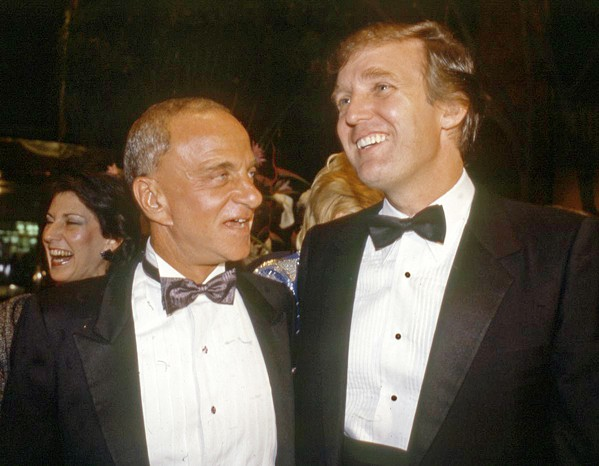 THE FIXER Lawyer and political insider Roy Cohn (1927-1986), mentor to both Joseph McCarthy and Donald Trump, gets his own documentary, in Where's My Roy Cohn? - PHOTO COURTESY OF ALTIMETER FILMS