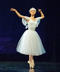 ON POINTE A melding of tradition with modern, Ballet Unbound's choreography and dance attire is multifaceted. - PHOTO COURTESY OF HEATHER GREY