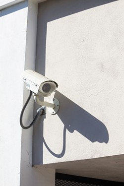 CHECK YOURSELF Security camera footage from local businesses that capture criminal activities is regularly turned in to the SLO Police Department, which often posts it on Facebook, hoping the public can identify the perpetrators. - PHOTO BY JAYSON MELLOM