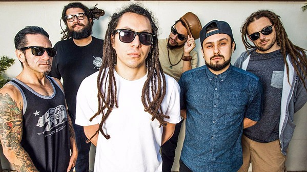 WATCH THEM GROW San Diego rock-reggae act Tribal Seeds returns to the Central Coast with a show at the Fremont Theater on Nov. 21. - PHOTO COURTESY OF TRIBAL SEEDS