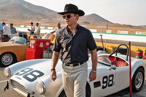 CHALLENGE ACCEPTED Car designer Carroll Shelby (Matt Damon) accepts Henry Ford II's challenge to design a race car that's better than a Ferrari. - PHOTOS COURTESY OF TWENTIETH CENTURY FOX