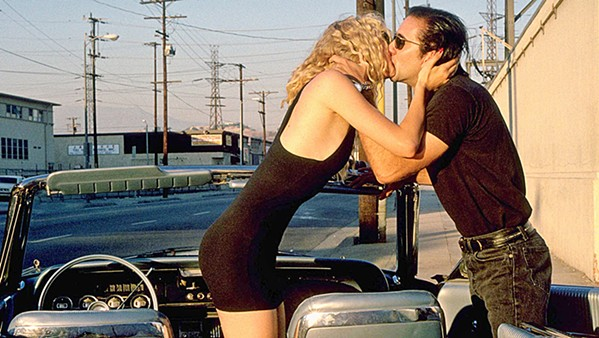 A LOVE OF THE WILD Laura Dern and Nick Cage star in David Lynch's Wild at Heart. - PHOTO COURTESY OF POLYGRAM FILMED ENTERTAINMENT