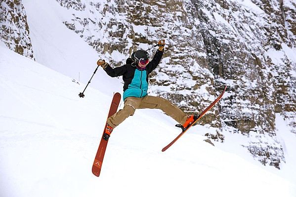 GO BIG! Get your stock on with another skiing and snowboarding adventure when Warren Miller's Timeless comes to the Fremont Theater on Dec. 4. - PHOTO COURTESY OF WARREN MILLER ENTERTAINMENT
