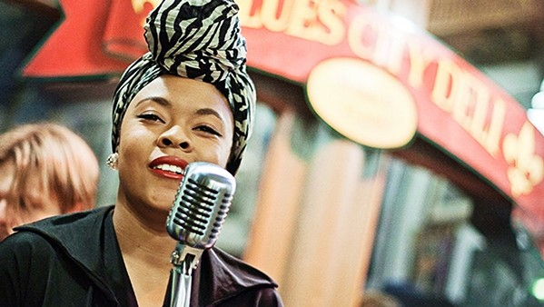 OLD SCHOOL COOL Nikki Hill delivers her cowpunk and garage blues inflected roots rock to The Siren on Dec. 10. - PHOTO COURTESY OF NIKKI HILL
