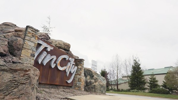 WELCOME TO TIN CITY A through-line of rebellion connects this motley crew of artisans. From small-lot wine to dry-hopped cider, each workspace is a universe unto itself. Ever watchful, Director Dina Mande has caught it all over the last couple of years. - IMAGE COURTESY OF TIN CITY