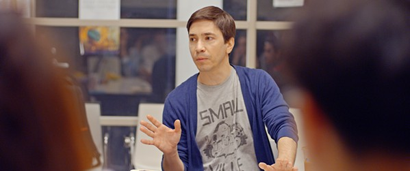 TRIGGER WARNING Josh (Justin Long), an NYC professor, finds himself in hot water and returns home to connect with his family, in the comedy After Class. - PHOTO COURTESY OF BONDIT MEDIA CAPITAL