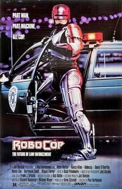 A CLASSIC RoboCop is one of the coolest films of the '80s, brimming with sharp satire and a layer of nuance left out of the action films of today. - IMAGE COURTESY OF ORION PICTURES