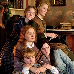 ENDURING SISTERHOOD Little Women follows the lives of four sisters—Jo (Saoirse Ronan), Beth (Eliza Scanlen), Meg (Emma Watson), and Amy (Florence Pugh) (from top to bottom)—as they come of age in 1860s New England. - PHOTO COURTESY OF COLUMBIA PICTURES