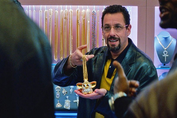 DIAMOND IN THE ROUGH A jeweler (Adam Sandler) balances family, business, and increasingly threatening adversaries, in the crime-dramedy, Uncut Gems. - PHOTO COURTESY OF A24