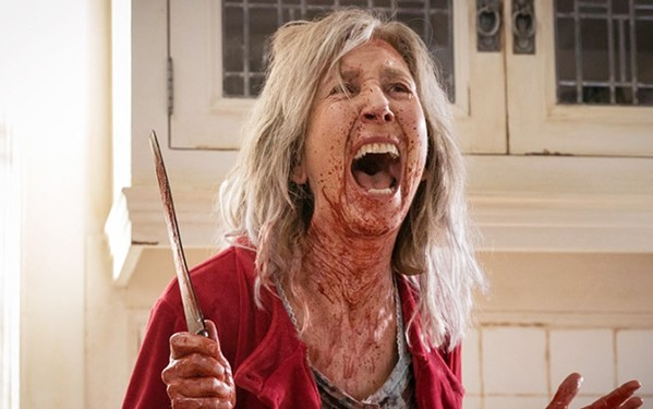THE GHOST OF MOVIES PAST The Grudge reboots the series that started in 2002 with the Japanese film Ju-on, about a vengeful spirit that dooms those it encounters, such as Faith Matheson (Lin Shaye). - PHOTO COURTESY OF SCREEN GEMS