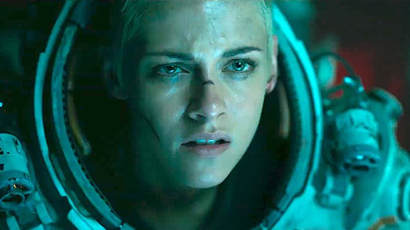 SINKING FEELING Aquatic researcher Norah Price (Kristen Stewart) and her colleagues work to escape their subterranean laboratory after an earthquake, in the sci-fi horror film, Underwater. - PHOTO COURTESY OF 20TH CENTURY FOX FILM CORPORATION