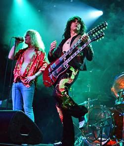 STAIRWAY TO HEAVEN Led Zeppelin tribute act Zoso plays SLO Brew Rock on Jan. 17. - PHOTO COURTESY OF ZOSO