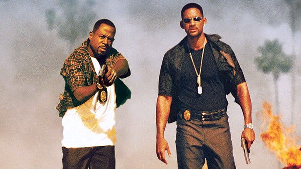 STILL BAD Detectives Marcus Burnett (Martin Lawrence, left) and Mike Lowrey (Will Smith) team up one more time to take down a Miami cartel kingpin, in Bad Boys for Life. - PHOTO COURTESY OF COLUMBIA PICTURES