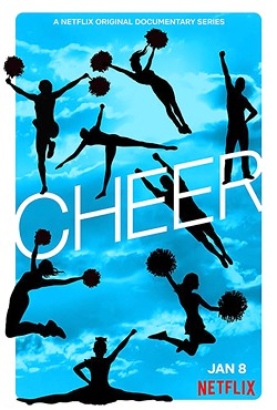 ALL OR NOTHING Netflix's docuseries Cheer dives into the heart of Navarro College's competitive cheerleading team. - IMAGE COURTESY OF NETFLIX